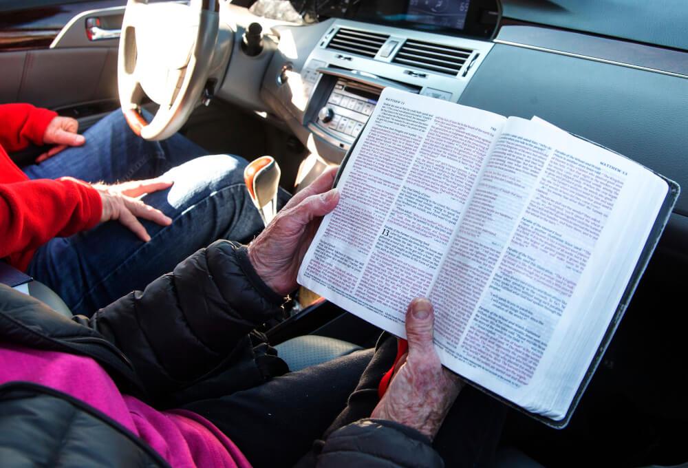 Drive-in Church Service